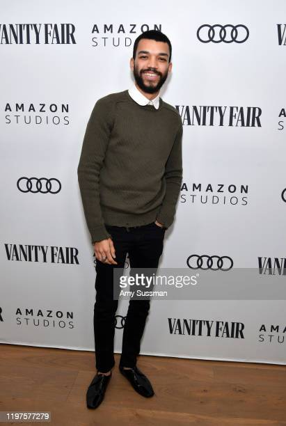 Justice Smith attends The Vanity Fair x Amazon Studios 2020 Awards Season Celebration at San Vicente Bungalows on January 04 2020 in West Hollywood...