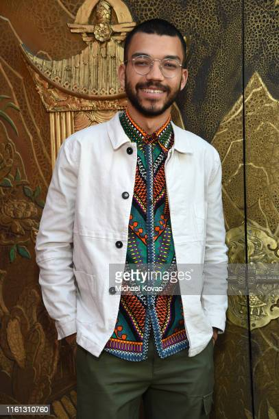 Justice Smith attends Twitter's fan premiere of Disney's #TheLionKing at Hollywood Highland Centre on July 10 2019 in Hollywood California