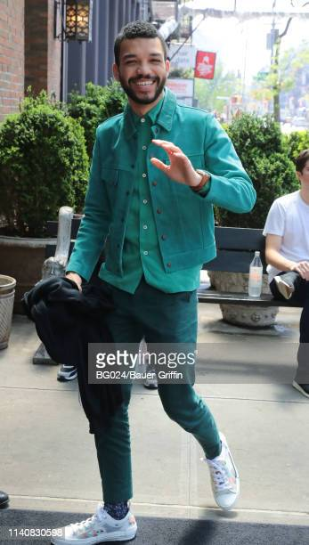 Justice Smith is seen on May 2 2019 in New York City