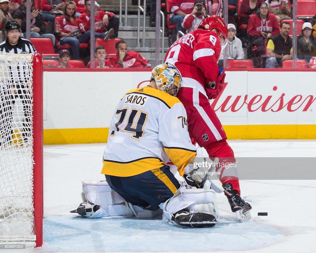 Nashville Predators v Detroit Red Wings't : News Photo