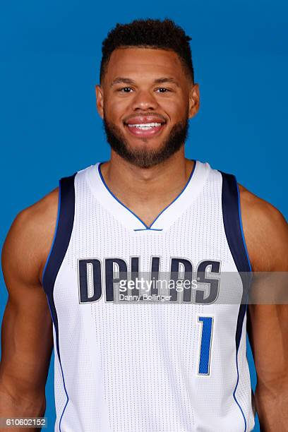 Justin Anderson of the Dallas Mavericks poses for a headshot during the Dallas Mavericks Media Day on September 26 2016 at the American Airlines...