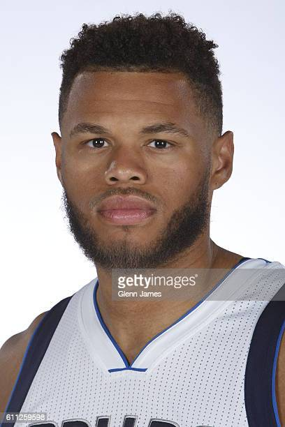Justin Anderson of the Dallas Mavericks poses for a photo during the 20162019 Dallas Mavericks Media Day on September 26 2016 at the American...