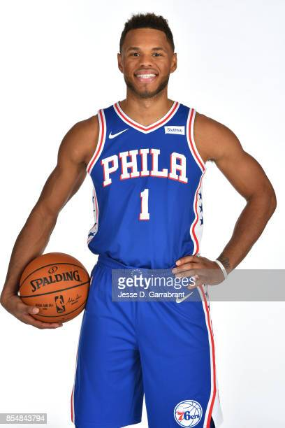 Justin Anderson of the Philadelphia 76ers poses for a portrait during 201718 NBA Media Day on September 25 2017 at Wells Fargo Center in Philadelphia...
