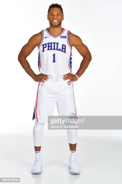 Justin Anderson of the Philadelphia 76ers poses for a portrait during 201718 NBA Media Day on September 25 2017 at Wells Fargo Center in Philadelphia...