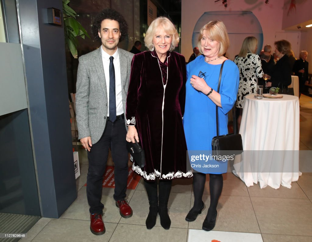 """The Duchess Of Cornwall Attends A Reception To Mark The Launch Of The """"Glorious Grandparents"""" Initiative : News Photo"""