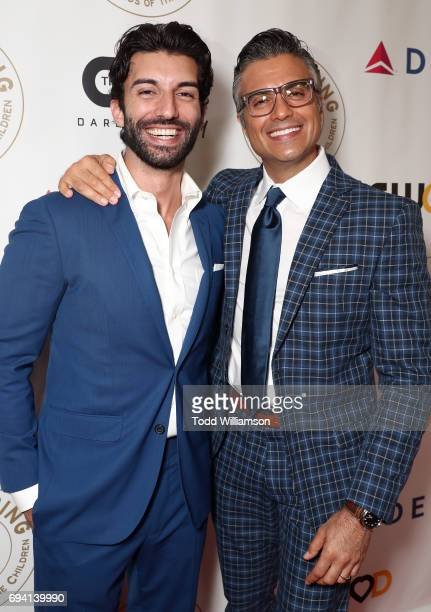 Justin Baldoni and Jaime Camil attend the 14th Annual Brass Ring Awards Dinner at The Beverly Hilton Hotel on June 8 2017 in Beverly Hills California