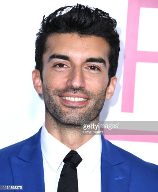 Justin Baldoni arrives at the Premiere of Lionsgate's Five Feet Apart at Fox Bruin Theatre on March 07 2019 in Los Angeles California