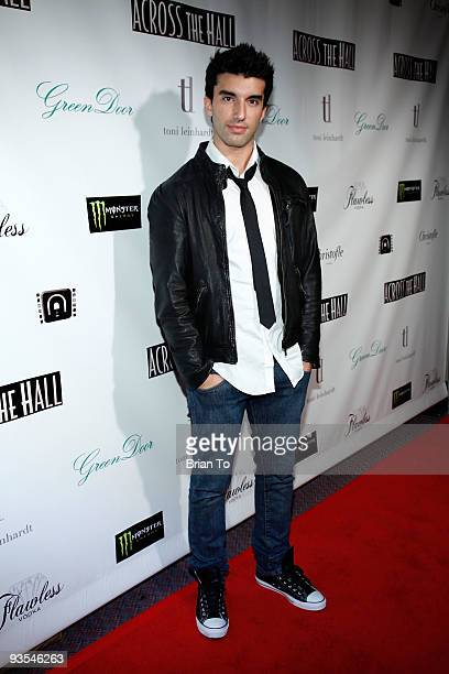 Justin Baldoni attends 'Across The Hall' Los Angeles Premiere at Laemmle's Music Hall 3 on December 1 2009 in Beverly Hills California
