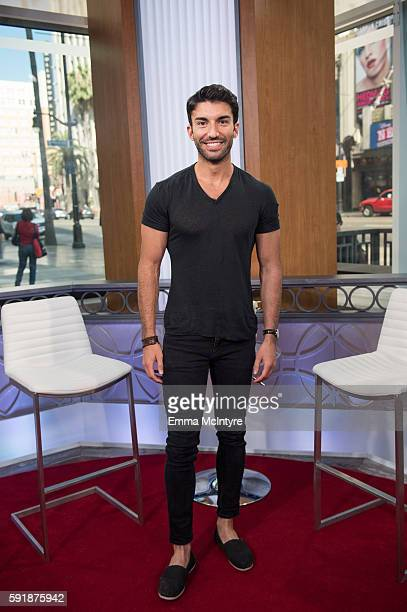 Justin Baldoni attends 'Justin Baldoni and Ashley LoveMills visit Hollywood Today Live' at W Hollywood on August 18 2016 in Hollywood California