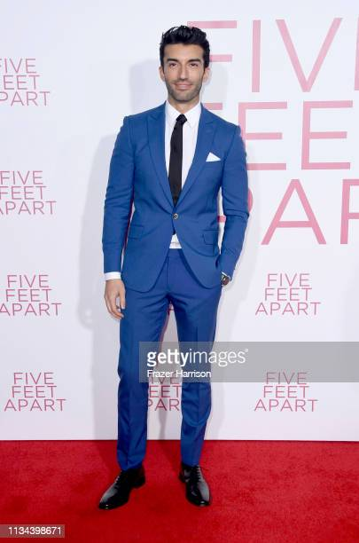 Justin Baldoni attends the Premiere Of Lionsgate's Five Feet Apart at Fox Bruin Theatre on March 07 2019 in Los Angeles California