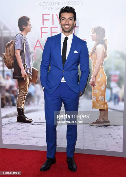 Justin Baldoni attends the premiere of Lionsgate's 'Five Feet Apart' at Fox Bruin Theatre on March 07 2019 in Los Angeles California