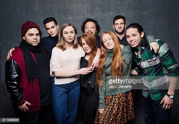 Justin Bartha Anthony Ramos Ralph Rodriguez India Menuez Morgan Saylor Elizabeth Wood Adrian Martinez and Brian 'Sene' Marc from the film 'White...