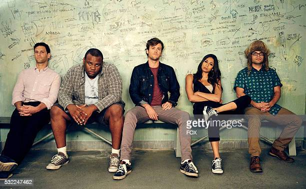 Justin Bartha as Josh Barrett James Earl as Barry Jack CutmoreScott as Cooper Barrett Meaghan Rath as Kelly and Charlie Saxton as Neal in the How to...