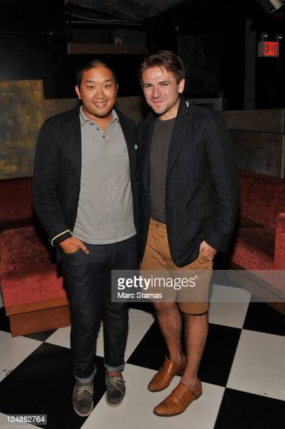 Justin Berkowitz attends the Robert Geller after party at The Bunker Club on September 10 2011 in New York City