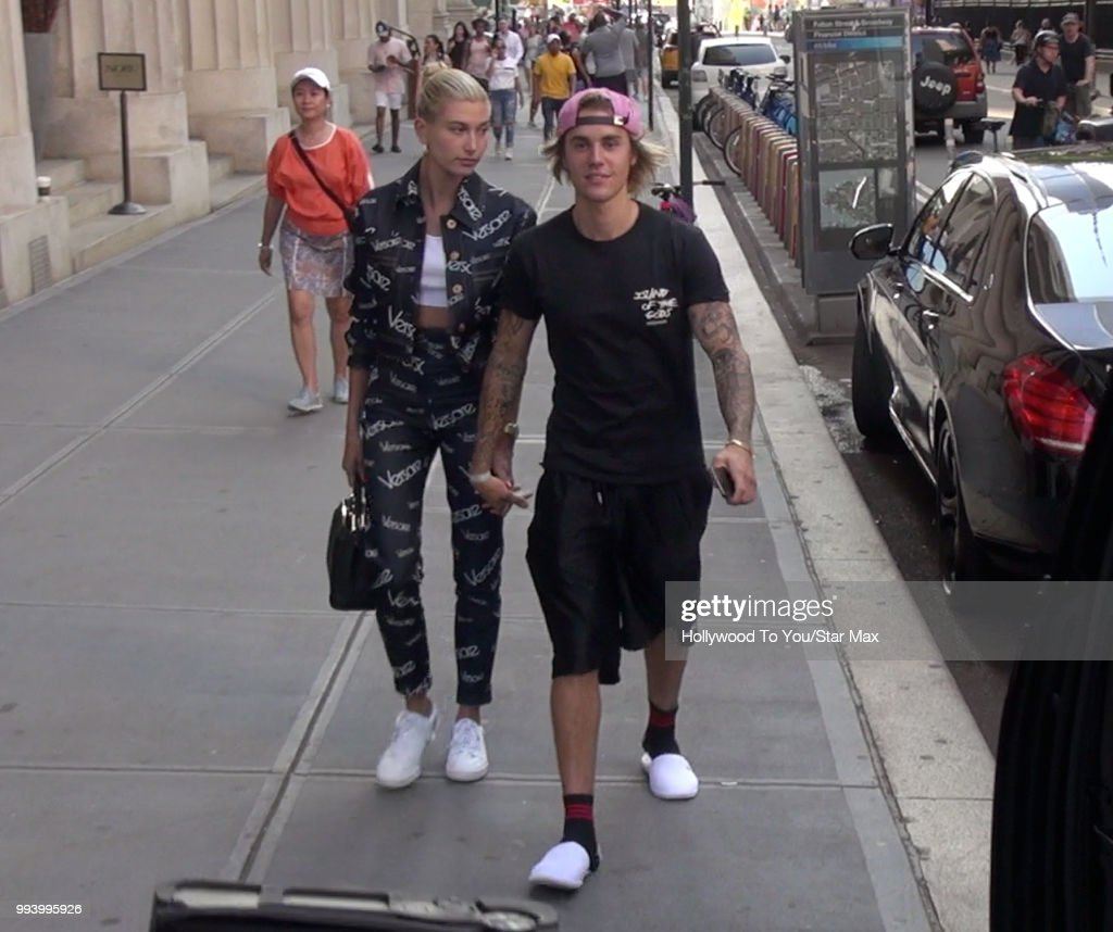 Celebrity Sightings in New York City - July 5, 2018 : News Photo