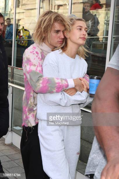 Justin Bieber and Hailey Baldwin visiting the London Eye on September 18 2018 in London England