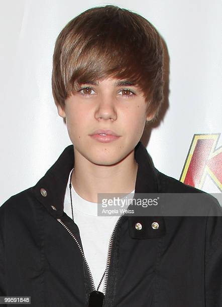 Justin Bieber arrives at KIIS FM's Wango Tango 2010 at the Staples Center on May 15 2010 in Los Angeles California