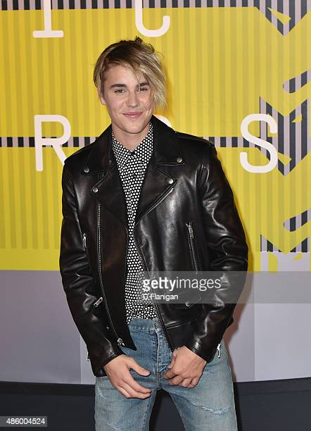 Justin Bieber arrives to the 2015 MTV Video Music Awards at Microsoft Theater on August 30 2015 in Los Angeles California
