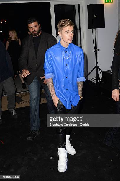 Justin Bieber at the De Grisogono 'Fatale In Cannes' party during the 67th Cannes Film Festival at Hotel du CapEdenRoc