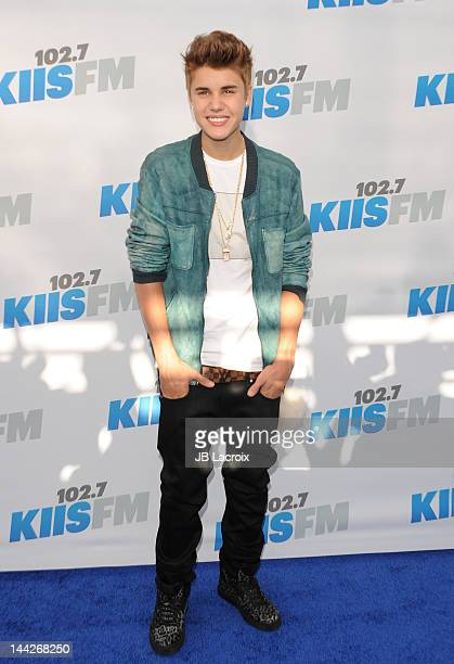 Justin Bieber attends 102.7 KIIS FM's Wango Tango at The Home Depot Center on May 12, 2012 in Carson, California.