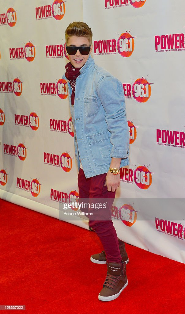 Justin Bieber attends Power 96.1's Jingle Ball 2012 at Phillips Arena on December 12, 2012 in Atlanta, Georgia.