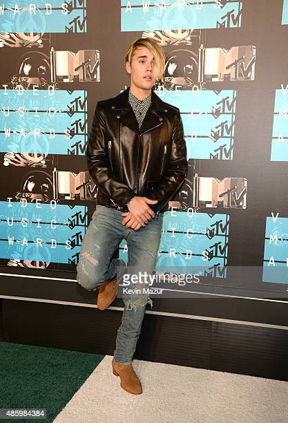 Justin Bieber attends the 2015 MTV Video Music Awards at Microsoft Theater on August 30 2015 in Los Angeles California