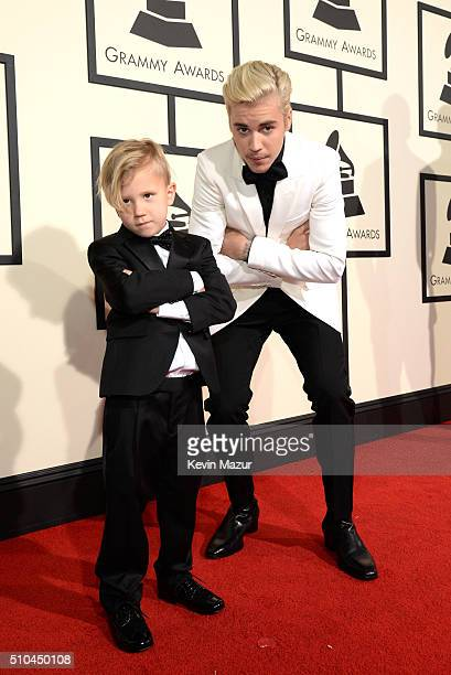 Justin Bieber attends The 58th GRAMMY Awards at Staples Center on February 15 2016 in Los Angeles California