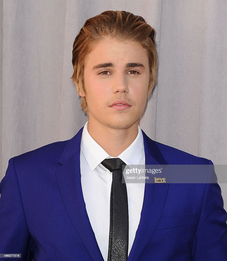 Justin Bieber attends the Comedy Central Roast Of Justin Bieber on March 14, 2015 in Los Angeles, California.