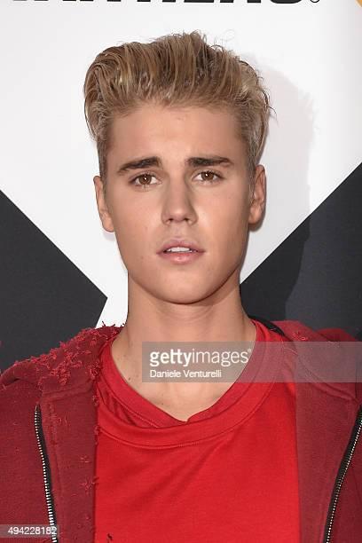 Justin Bieber attends the MTV EMA's 2015 at Mediolanum Forum on October 25, 2015 in Milan, Italy.