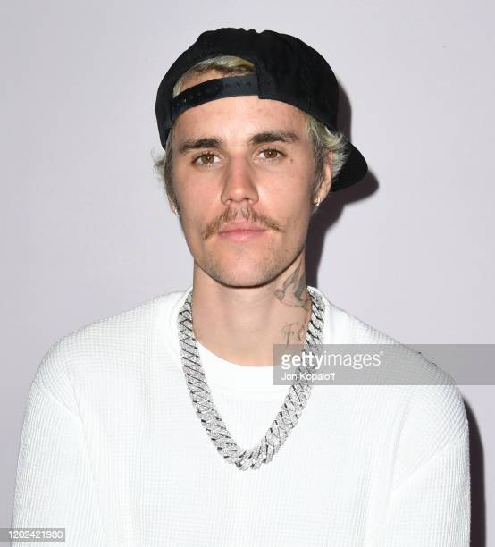 Justin Bieber attends the premiere of YouTube Originals' Justin Bieber Seasons at Regency Bruin Theatre on January 27 2020 in Los Angeles California