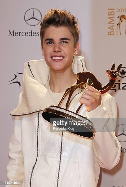 Justin Bieber Bei Der Bambi Verleihung 2011 In Den Rhein Main Hallen In Wiesbaden