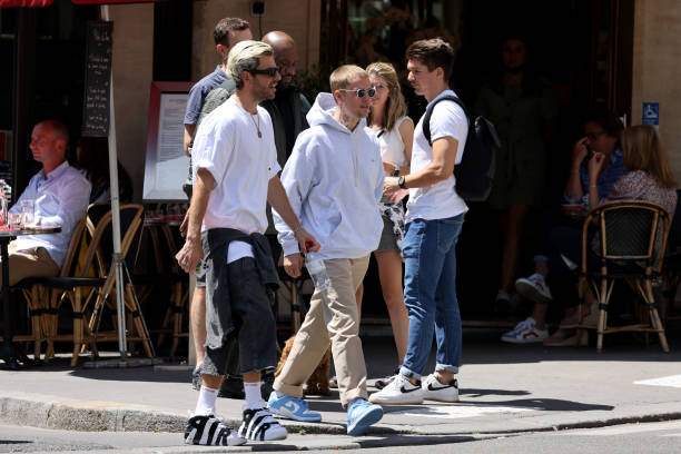 FRA: Justin Bieber And His Wife Hailey Baldwin Bieber Sighting In Paris