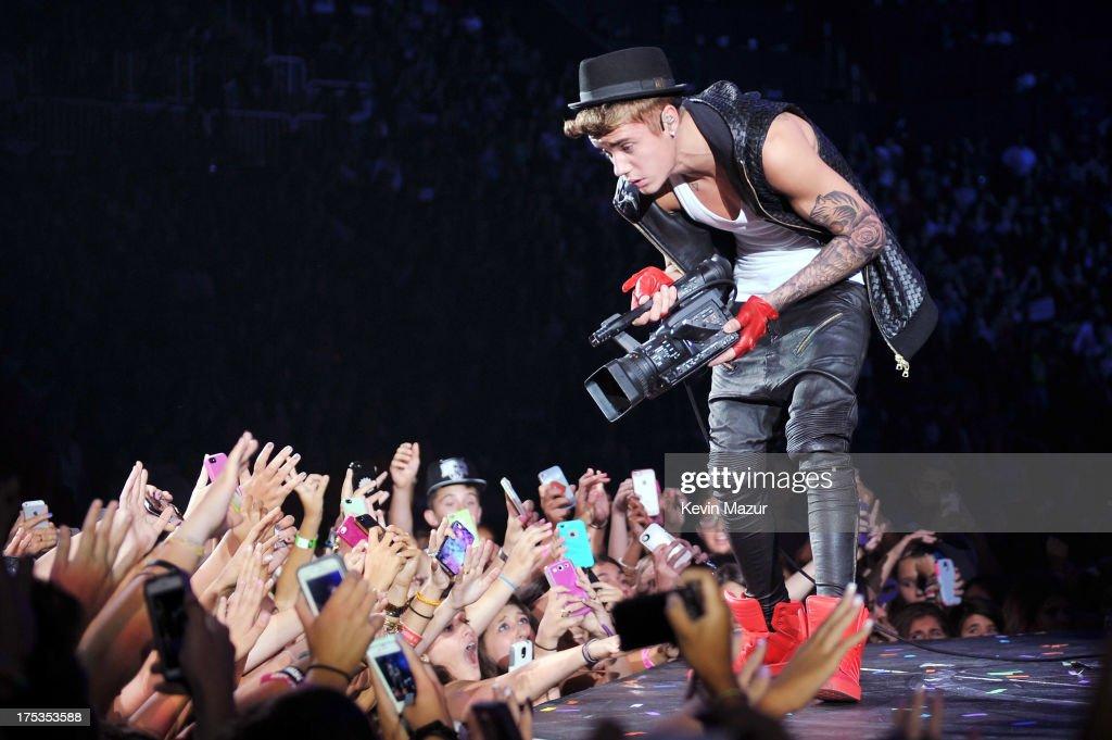 "Justin Bieber ""Believe"" Tour - Brooklyn : News Photo"