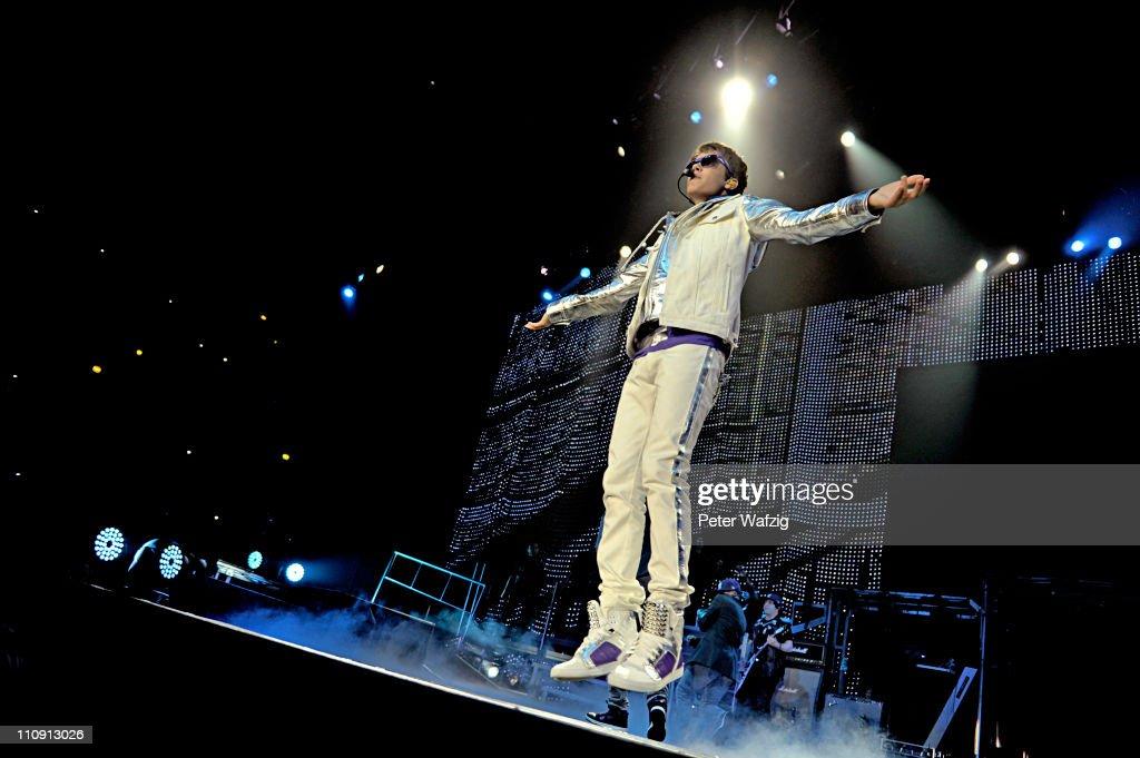 Justin Bieber In Concert : News Photo