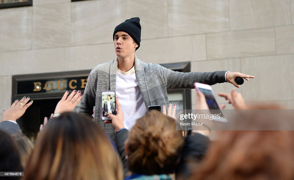 Justin Bieber Performs on the Citi Concert Series on TODAY : News Photo