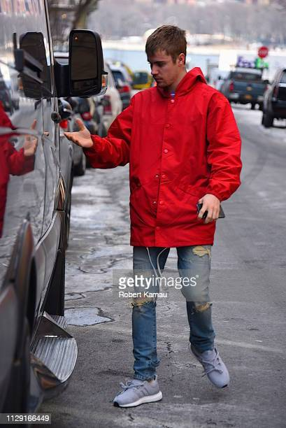 Justin Bieber seen out and about in Brooklyn on March 7 2019 in New York City