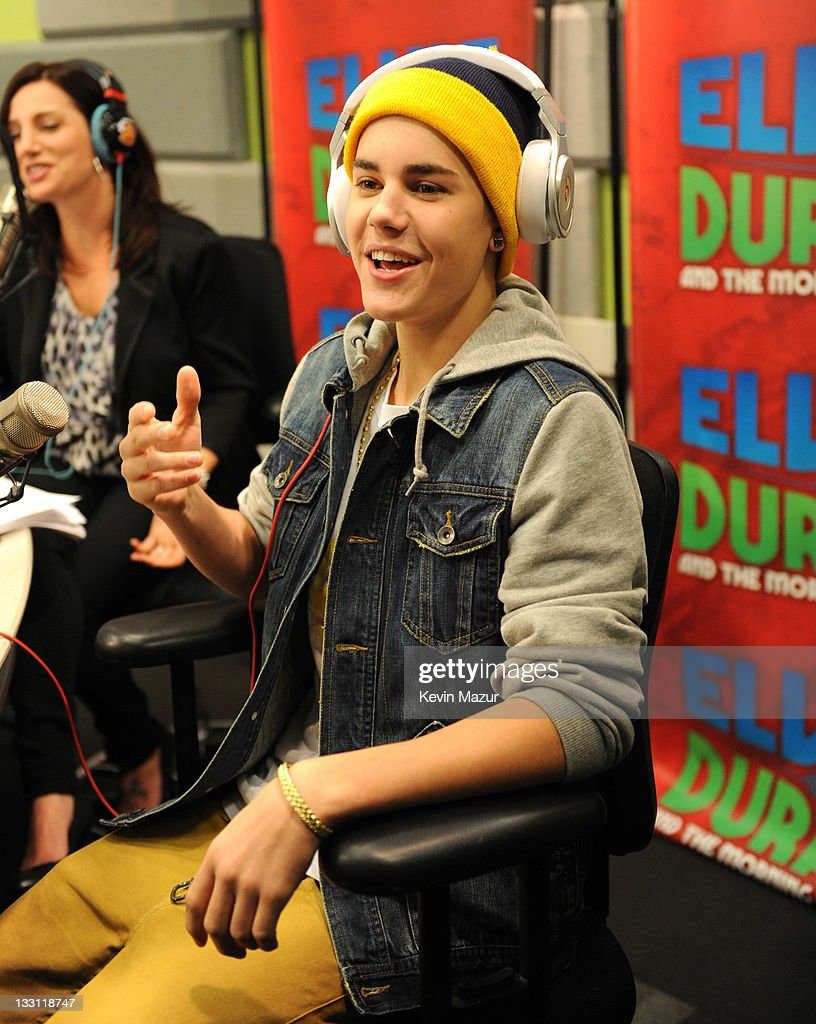 Justin Bieber Exclusive Interview at The Elvis Duran Morning Show