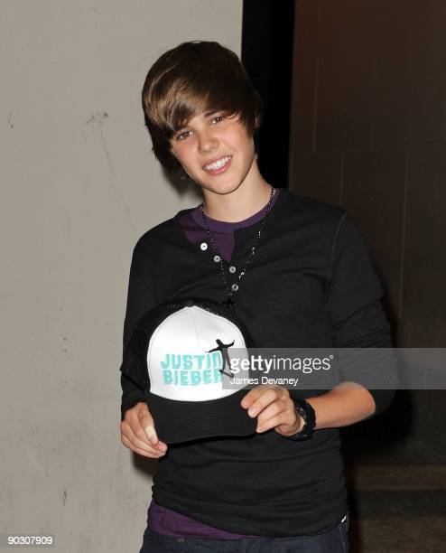 Justin Bieber visits MTV's 'It's On with Alexa Chung' at MTV Studios on September 2 2009 in New York City