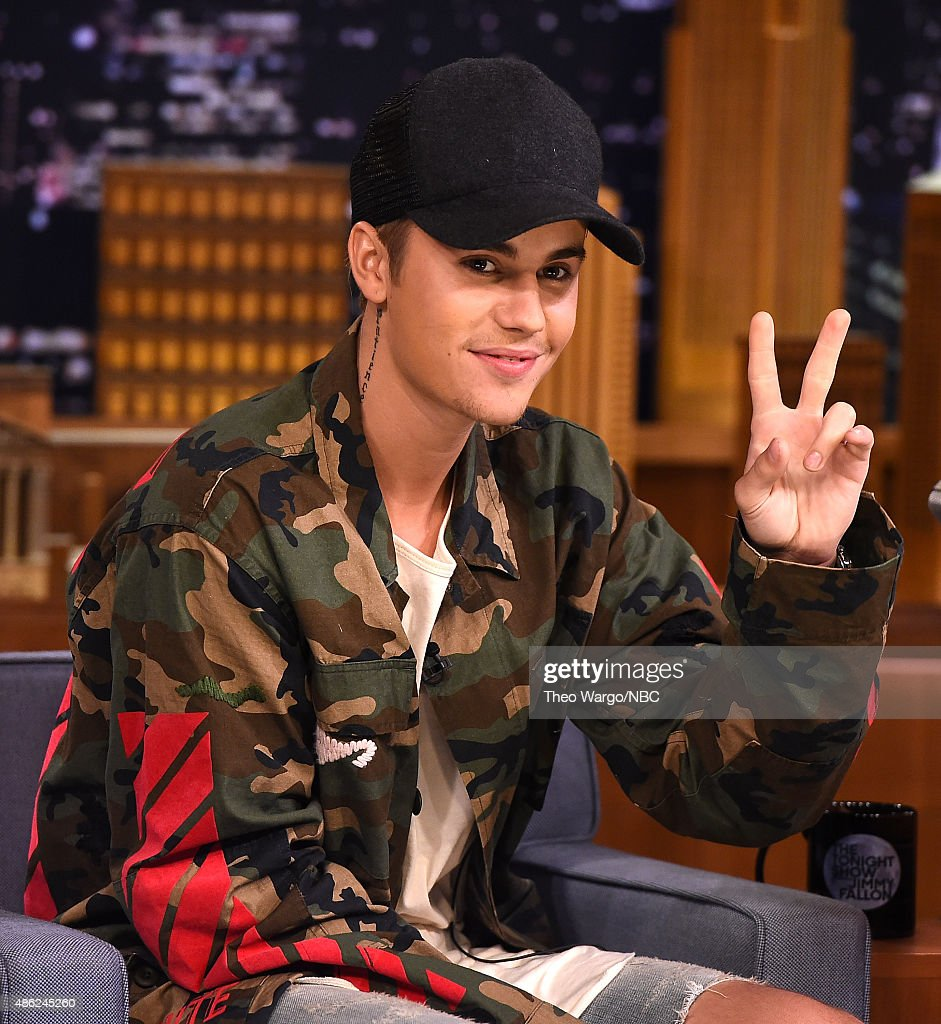 "Justin Bieber Visits ""The Tonight Show Starring Jimmy Fallon"""