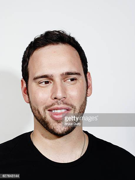Justin Bieber's manager Scott Scooter Braun is photographed for Billboard Magazine on July 26 2012 in Los Angeles California