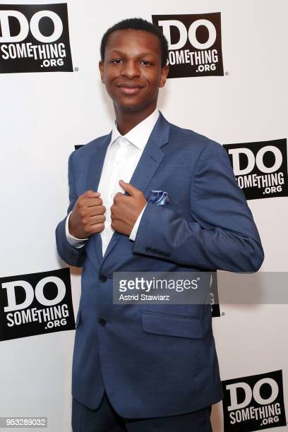 Justin Blackman attends the 25th Anniversary DoSomethingorg gala at Gotham Hall on April 30 2018 in New York City