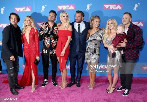Justin Bobby Brescia Stephanie Pratt Frankie Delgado Ashley Wahler Jason Wahler Audrina Patridge Heidi Pratt Gunner Pratt and Spencer Pratt attend...