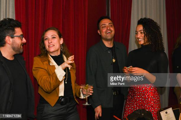Justin Bolognino Samantha Urbani Yony Iyser and Magaajyia Silberfeld attend an UNBLINDED Dinner Hosted By Jay Abraham Sean Callagy And Shannon...