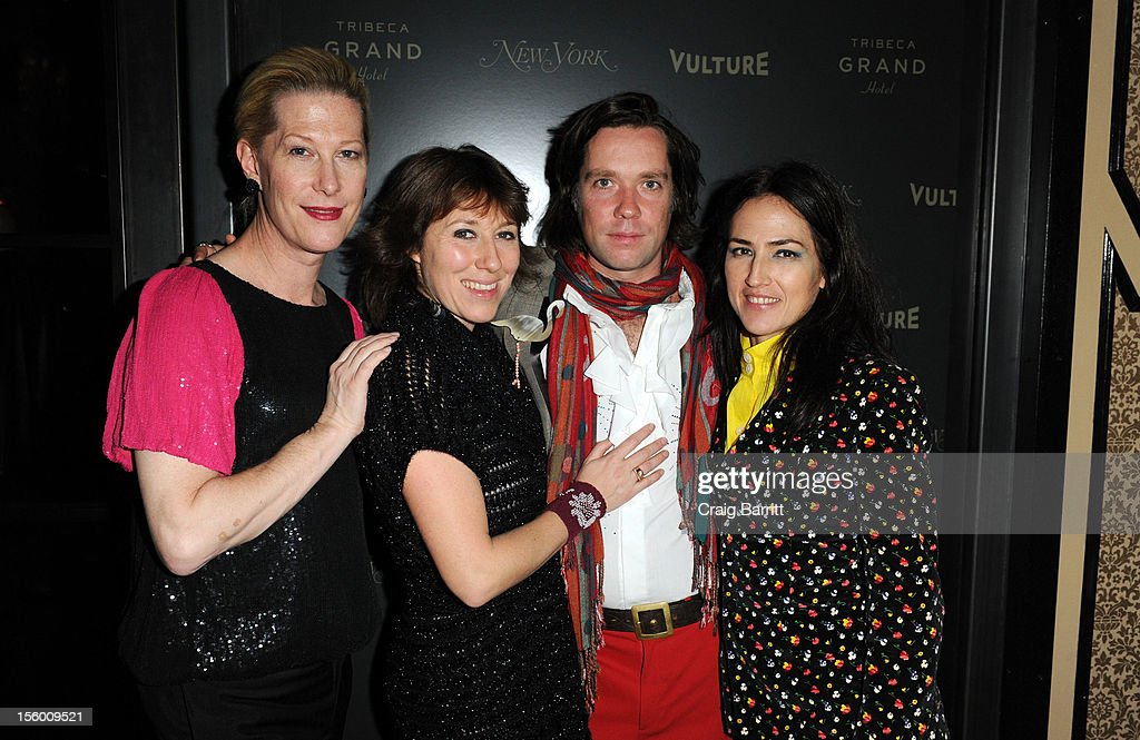 Justin Bond, Martha Wainwright, Rufus Wainwright and Joan Lawson attend 'Sing Me The Songs That Say I Love You: A Concert For Kate McGarrigle' premiere after party at Tribeca Grand Hotel on November 10, 2012 in New York City.