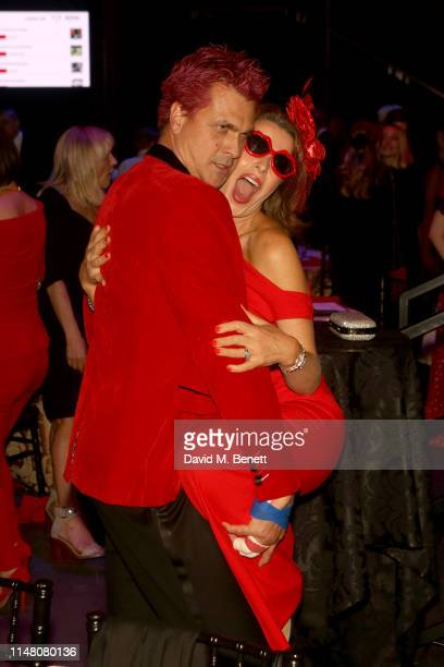 Justin Bower and Natasha Kaplinsky attend the Save The Children Centenary Gala at The Roundhouse on May 09 2019 in London England