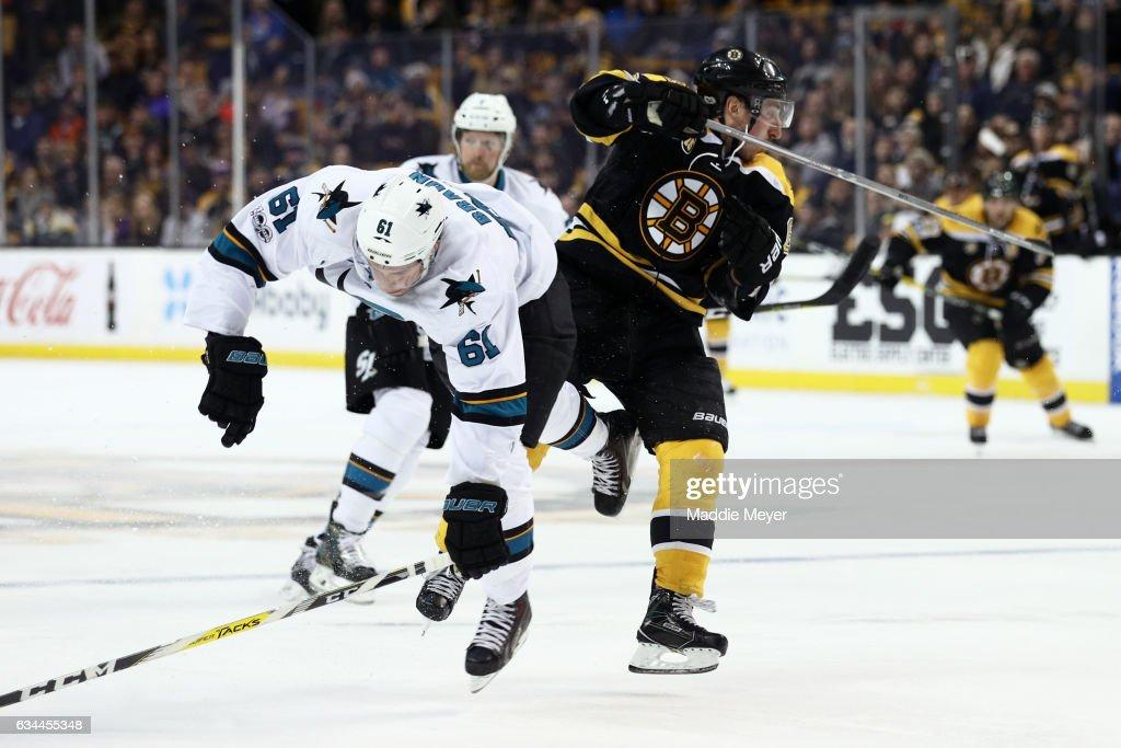 San Jose Sharks v Boston Bruins : News Photo