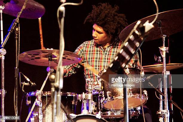 Justin Brown Love Supreme Jazz Festival Glynde Place East Sussex 2015 Artist Brian O'Connor