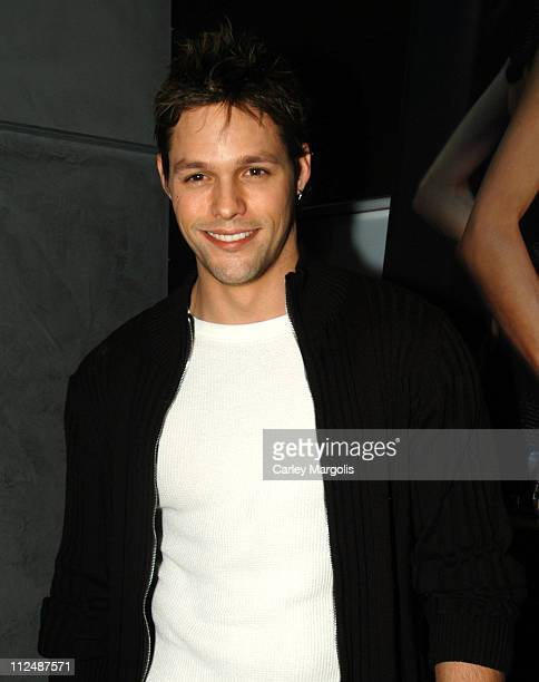 Justin Bruening of 'All My Children' during 10th Annual Gen Art Film Festival New York City Launch Party at Emporio Armani in New York City New York...
