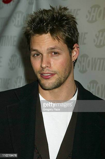 Justin Bruening of 'All My Children' during Showtime's 'Fat Actress' New York City Premiere Inside and Red Carpet Arrivals at Clearview Chelsea West...