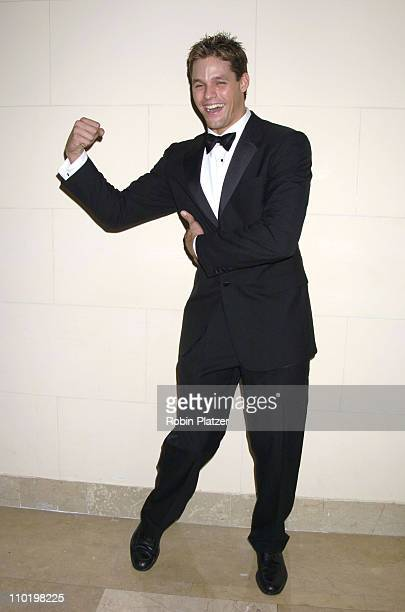 Justin Bruening of 'All My Children' during The Leukemia and Lymphoma Society's 2004 Bill Bernbach Memorial Dinner at The Plaza Hotel in New York...